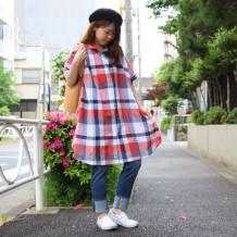 【FINAL DECISION】綿麻シャンブレ―ワンピース