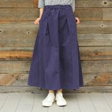 【NANEA】スラブツイルボリュームスカート
