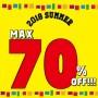 MAX 70% OFF!!!