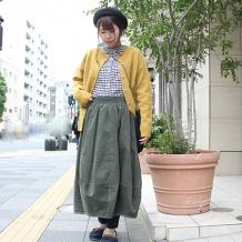 【inthegroove,】11Wコーデュロイコクーンスカート