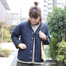 【ネット限定】中綿キルティングジャケット