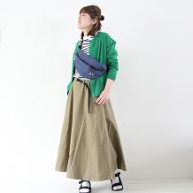 【inthegroove,】バンテージデニムフレアスカート