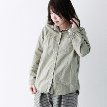【inthegroove,】オックス製品染めシャツRG