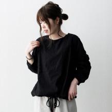 【inthegroove,】刺繍レース切替プルオーバー