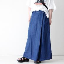 【inthegroove,】リヨセルコットンラップスカート